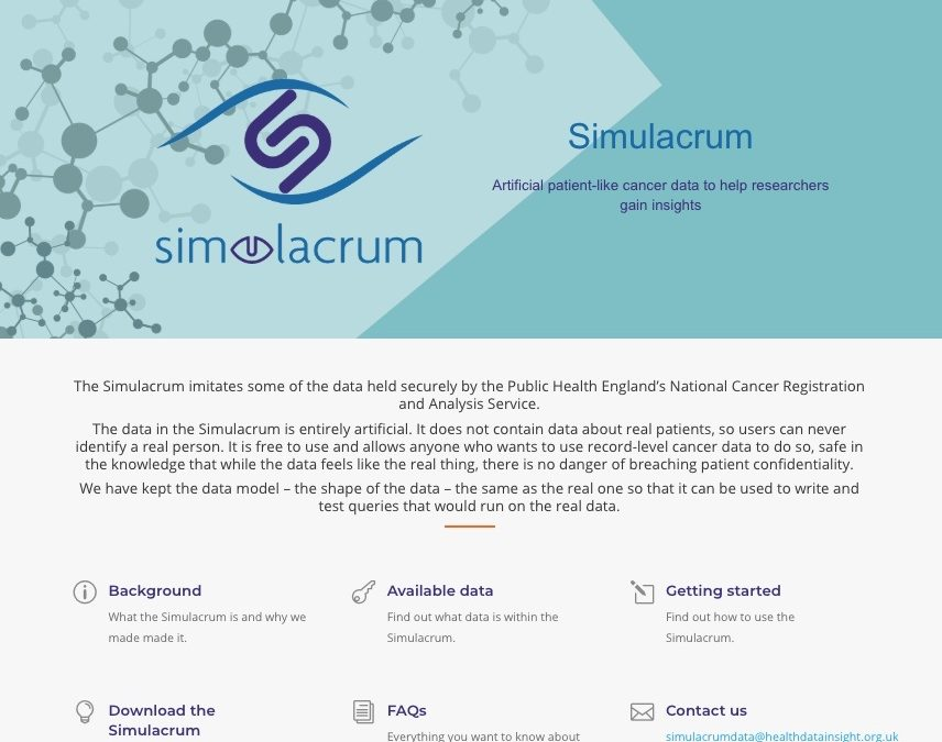 The Simulacrum is launched