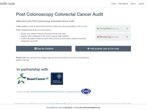 Reducing the rate of post-colonoscopy colorectal cancers (PCCRC) in England