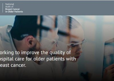 The National Audit of Breast Cancer in Older Patients
